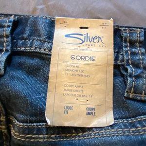 32X30 Silver Jeans Gordie NWT